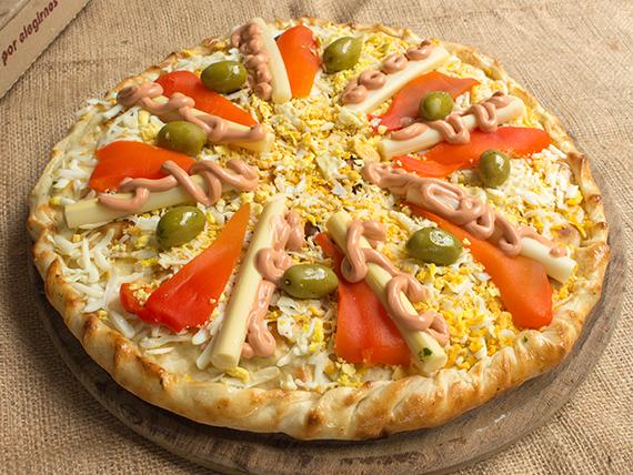 Pizza rellena Crack