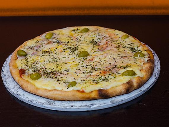1 - Pizza muzzarella grande