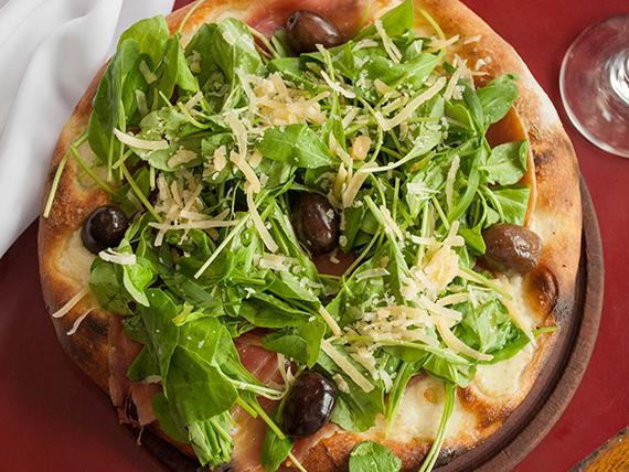 Pizza especial rúcula