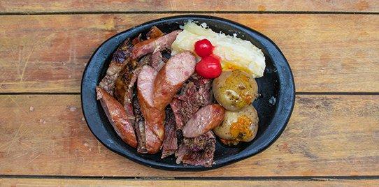 Carne a la Llanera + Chorizo