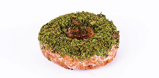 Tortas por Porción Donut de Pollo y Espinaca