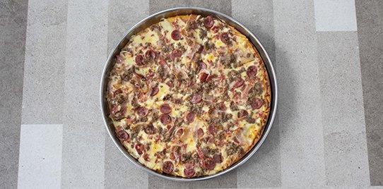 Pizza Tradicional Karnívora Pequeña