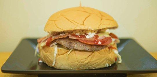 Hamburguesa Sencilla de Carne o Pollo