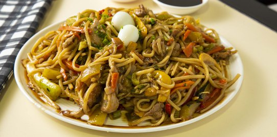 Verdura Caliente Más Espagueti Mixto