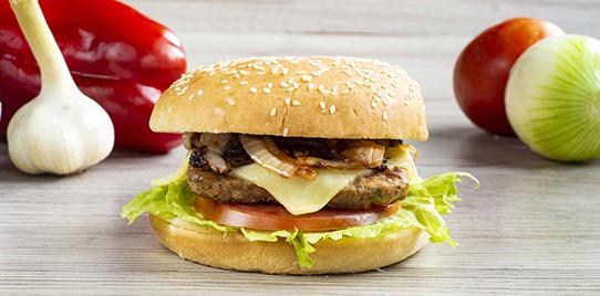 Hamburguesa Carne Sencilla con Grille