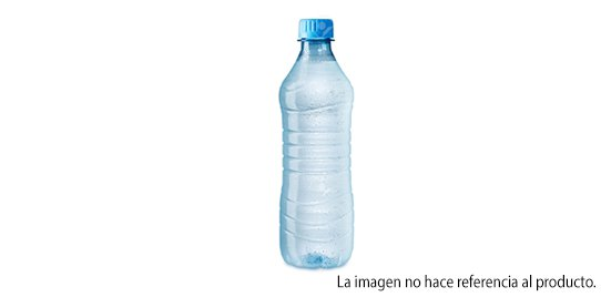 Agua 600ml Sin Gas