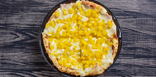 Pizza Especial Hawaiana