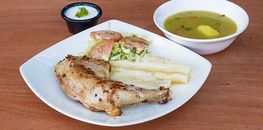 Pollo Árabe Sencillo