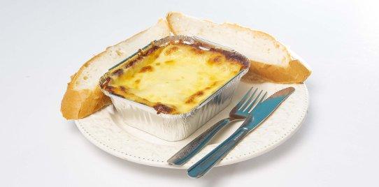 Lasagna Jamón y Pollo