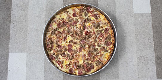 Pizza Tradicional Karnívora Súper Maxi