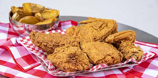 1 Pollo Chickfill Apanado