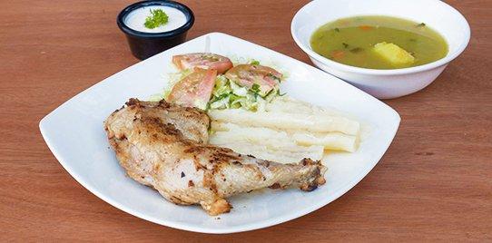 Pollo Árabe Especial