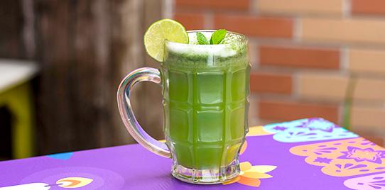 Limonada Hierbabuena