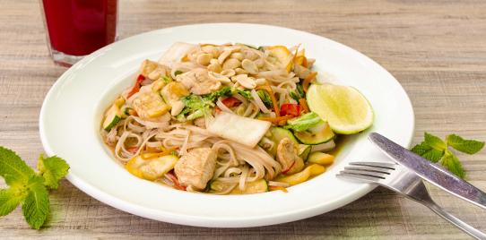 Tallarines Thai
