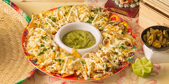 Nachos especiales XL