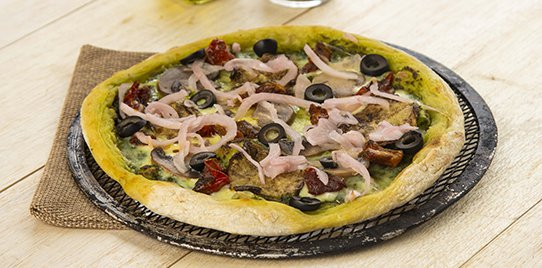 Pizza Green Veggie