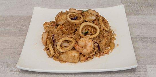Rice Tailandia Mariscos Mediano