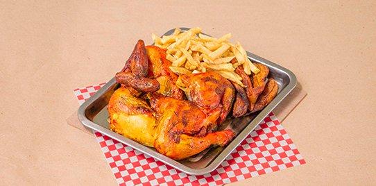 1 Pollo Asado con Francesa