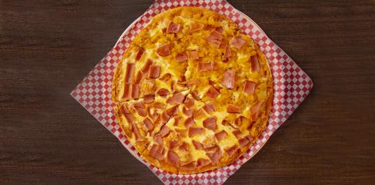 Pizza Grande: Dos sabores