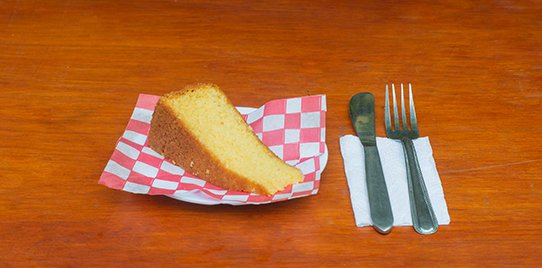 Porción Torta Casera