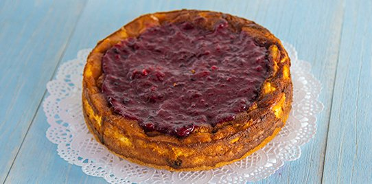 Cheesecake de Frutos Rojos