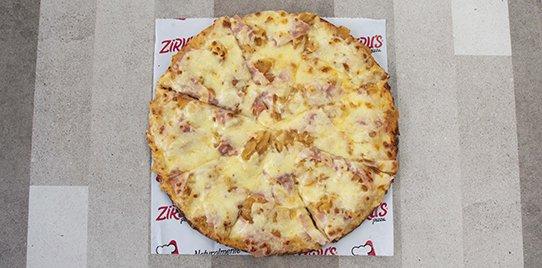 Pizza Tradicional Hawaiana Mediana