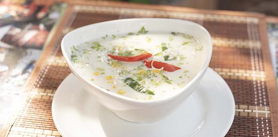 Sopa de Cangrejo