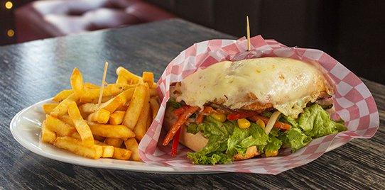 Sándwich Gratinado Vegetariano
