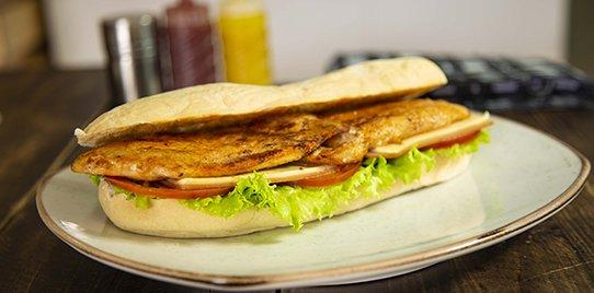 Sándwich la Presa