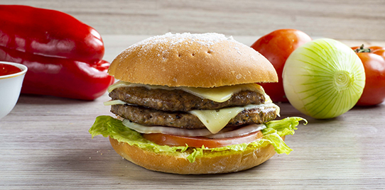Hamburguesa Doble Carne Artesanal
