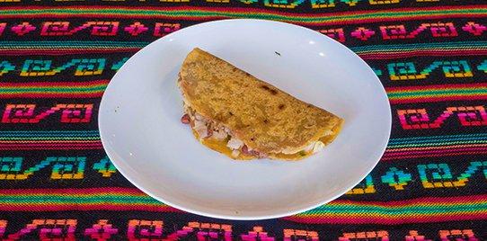 Burrito en Tortilla de Maíz