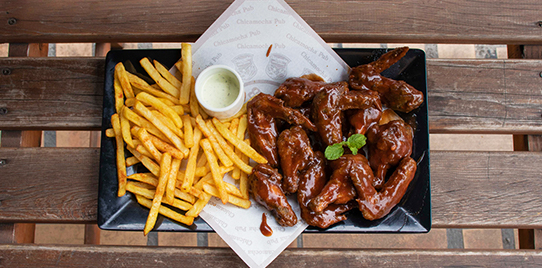 Alitas (Chicken Wings)