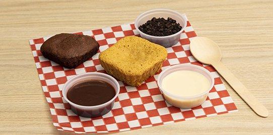 Sorpresa con Salsa de Nutella, Leche Condensada y Oreo 140gr