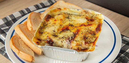 Lasagna Pollo Champiñón