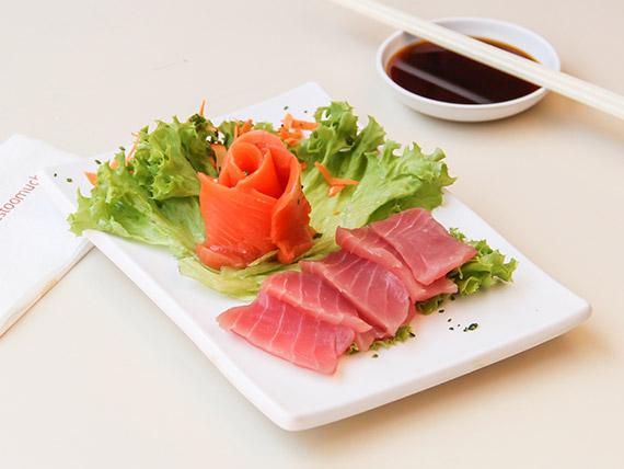Sashimi mixto (10 cortes)