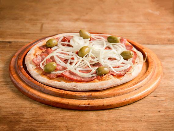 115 - Pizza calabresa