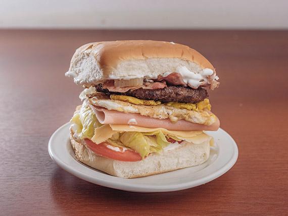 Hamburguesa Bac Burger Egg