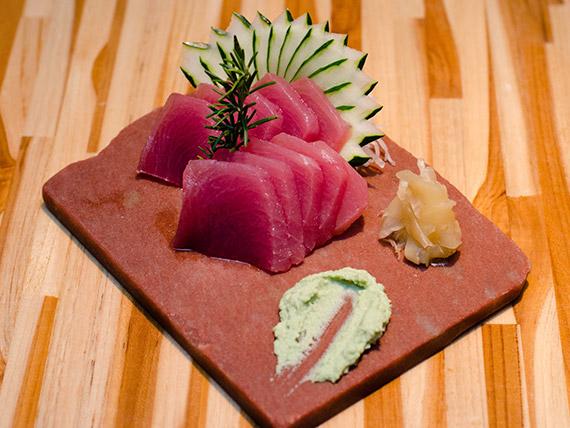 Sashimi maguro (10 unidades)