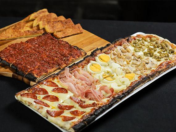 Degustación de pizzas
