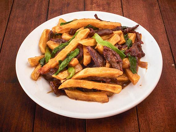 25 - Carne com batata imperial