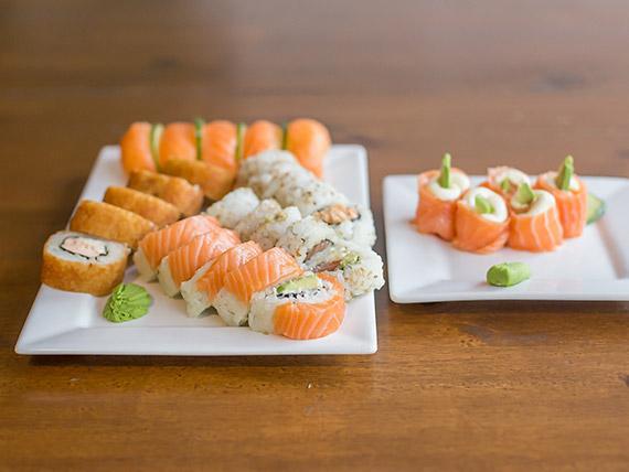 Combinado - Full salmón 25 piezas