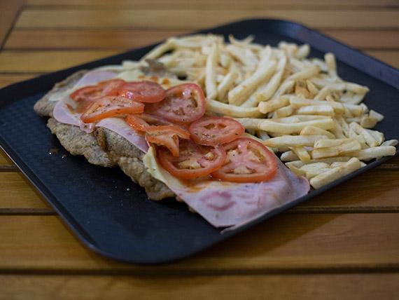 Pizzanesa napolitana (para compartir)