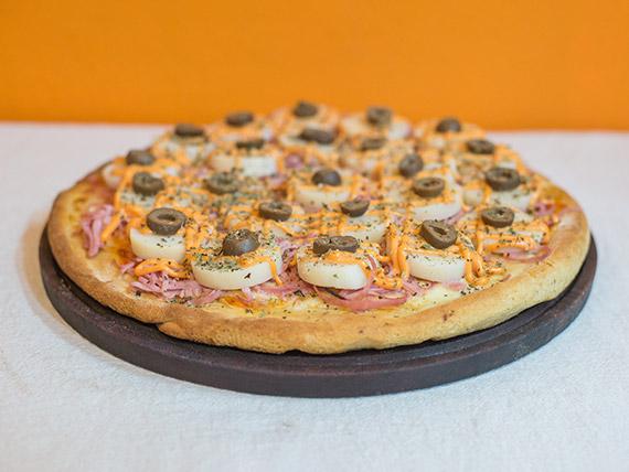 Pizza con palmitos