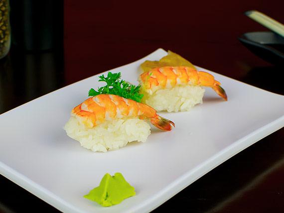 Sushi camarão (2 unidades)