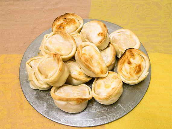 Empanada de jamón y queso (para hornear)