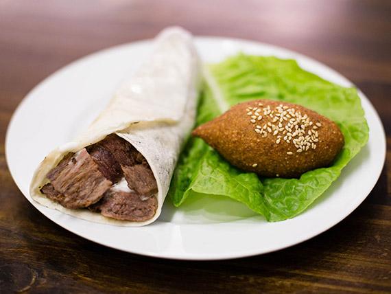 Shawarma de kebbe
