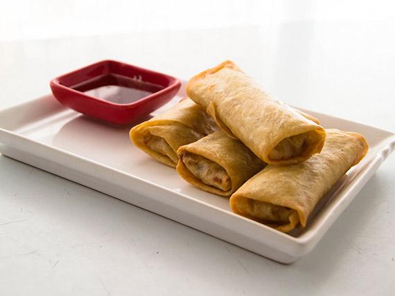 Promo - 4  empanadas chinas + salsa agridulce