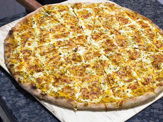 Pizza frango com catupiry grande