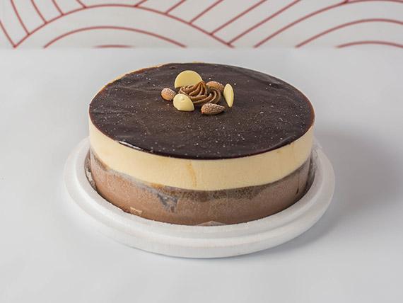 Torta helada chocomerengada
