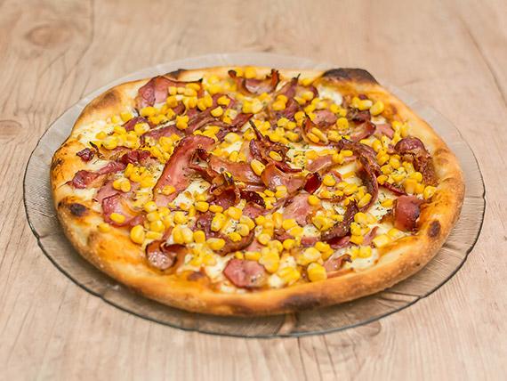 Pizza bacon & milho